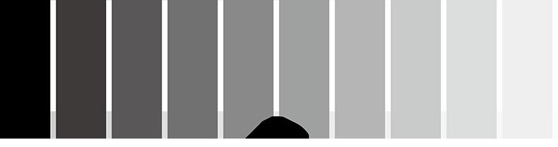 境界部分に白を挟み、縁辺対比を回避した例